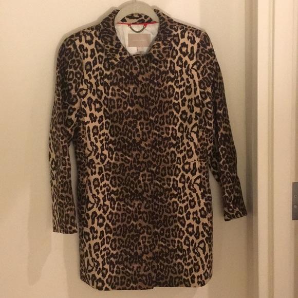 40c7b5c7260d Banana Republic Jackets & Coats   Leopard Coat   Poshmark